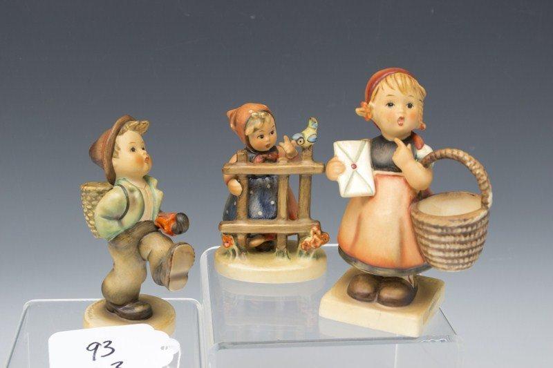 93: Three Hummel Figurines
