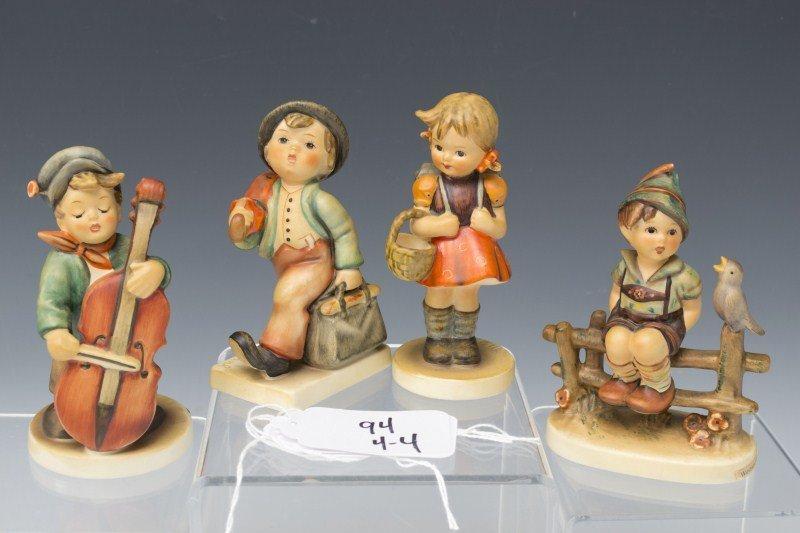 94: Four Hummel Figurines