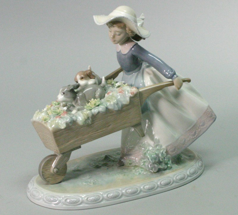 "198: Lladro 5460 "" A barrow of fun"""