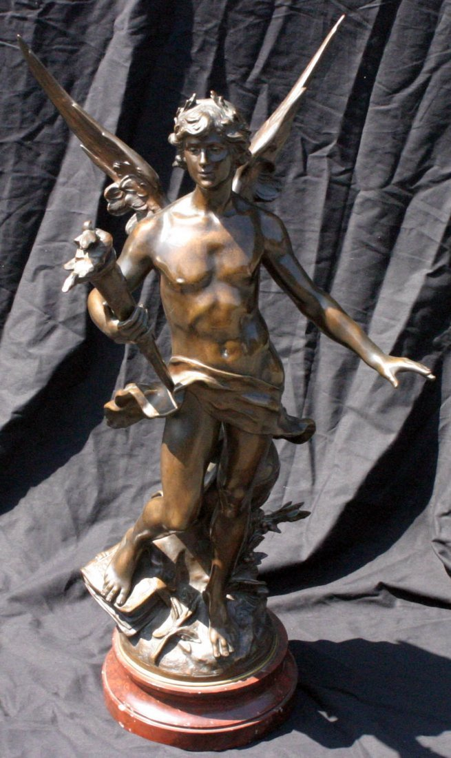 207: Bronze Angel Statue