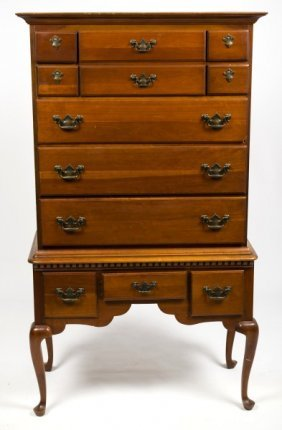 Queen Ann Style Highboy