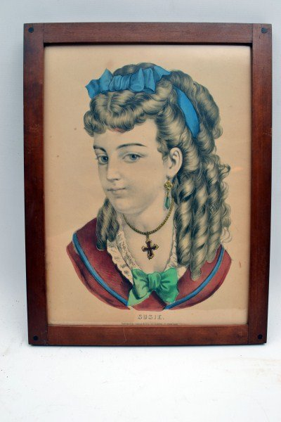 359: Six Currier and Ives, Kellogg Lithographs - 3