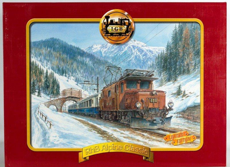 1: LGB 70640 RhB Alpine Classic with Sound