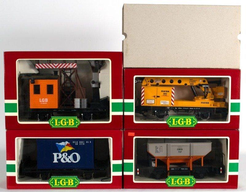 7: LGB 4049, LGB 4042, LGB 4103, LGB 4141