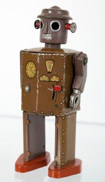 168: Japanese Litho Tin Wind-Up Robot