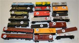 158A: HO Scale Model Train Diesel Loco & Rolling Stock