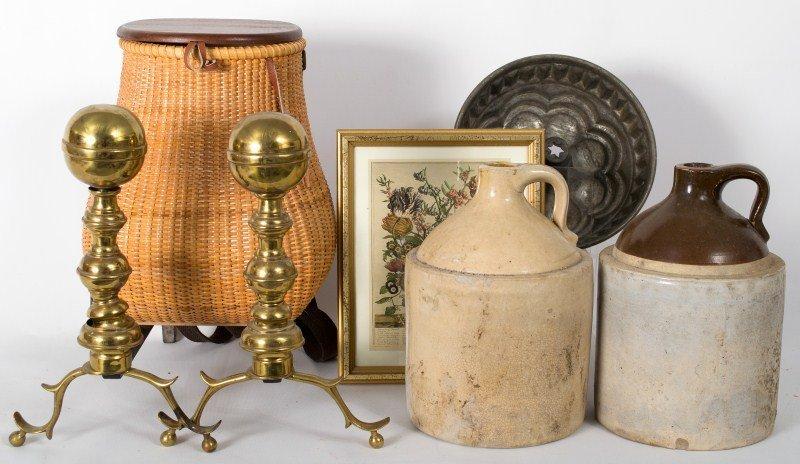 360: Stoneware and Brass