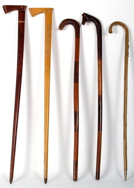 361: Folk Art Canes