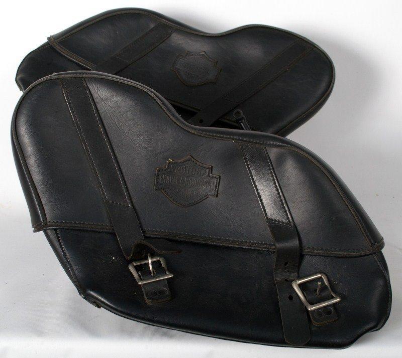 364: Harley Davidson Soft Tail Saddle Bags