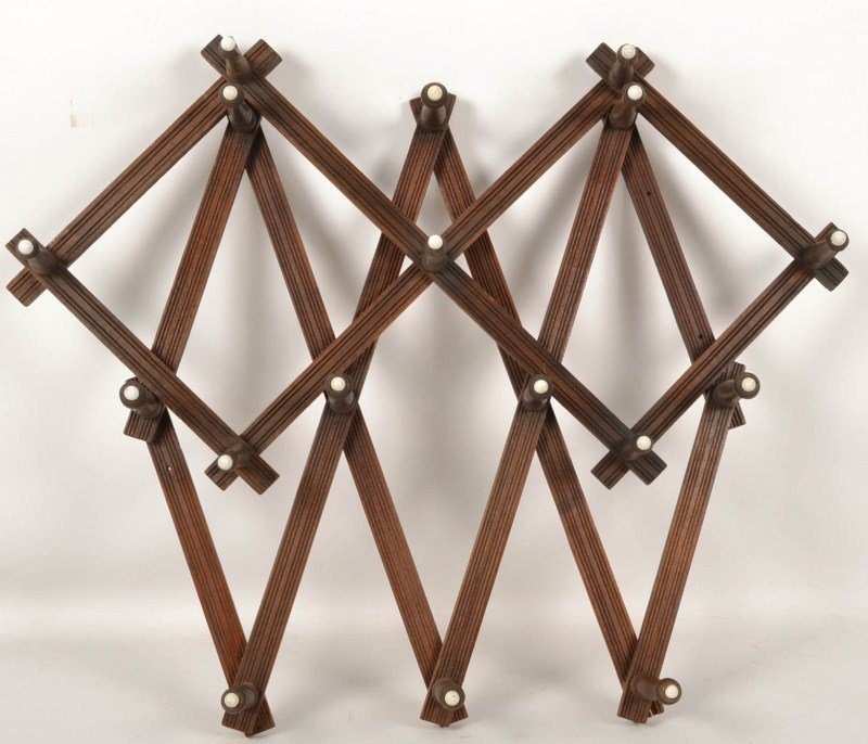 Two Victorian Hat Racks