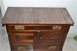 Victorian Dressing Table with Marble