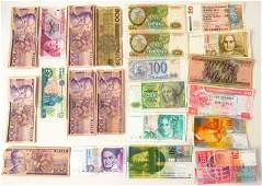Lot of Foreign Paper Money