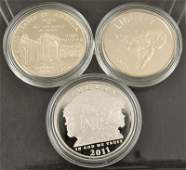 US Commemorative Silver Dollar Proofs