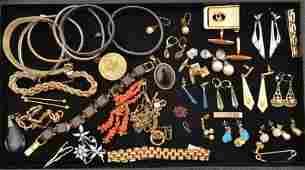 Assortment of Costume Jewelry