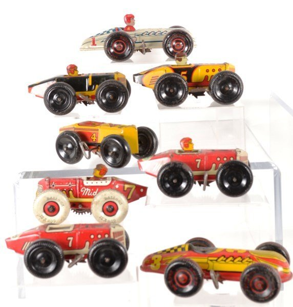 Windup Marx Racers from the 1940's