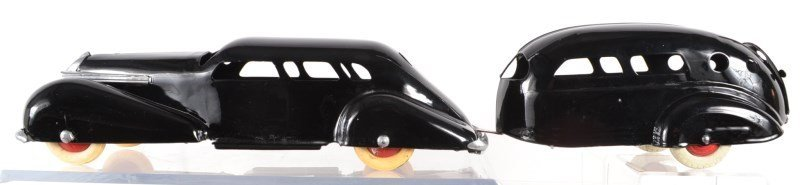 Black Wyandotte Car and Trailer