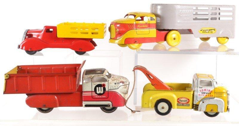 Wyandotte Four Piece Truck Lot
