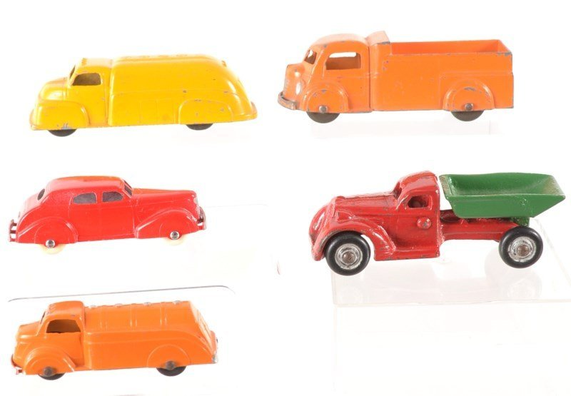 Tootsie Toy and Cast Iron Vehicles