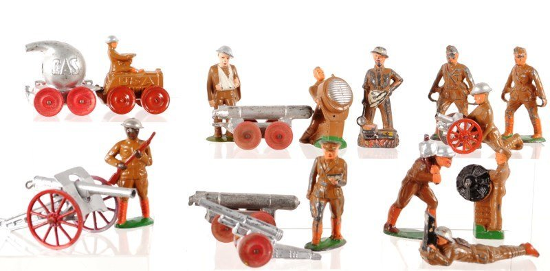 Collection of Barclay & Manoil Toy Soldiers
