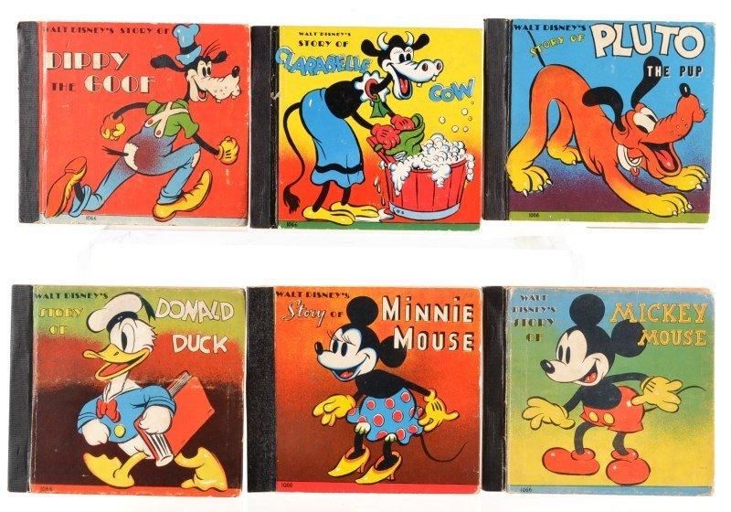 "Whitman ""Walt Disney Story Of"" Bookset © 1938"