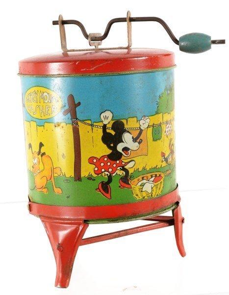 Disney Toy Washing Machine 1930's
