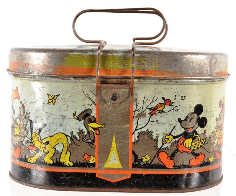 Mickey Mouse Tin Lunch Box – 1930's