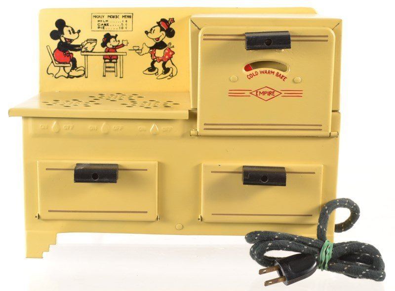 Mickey Mouse Electric Stove Toy – 1930's