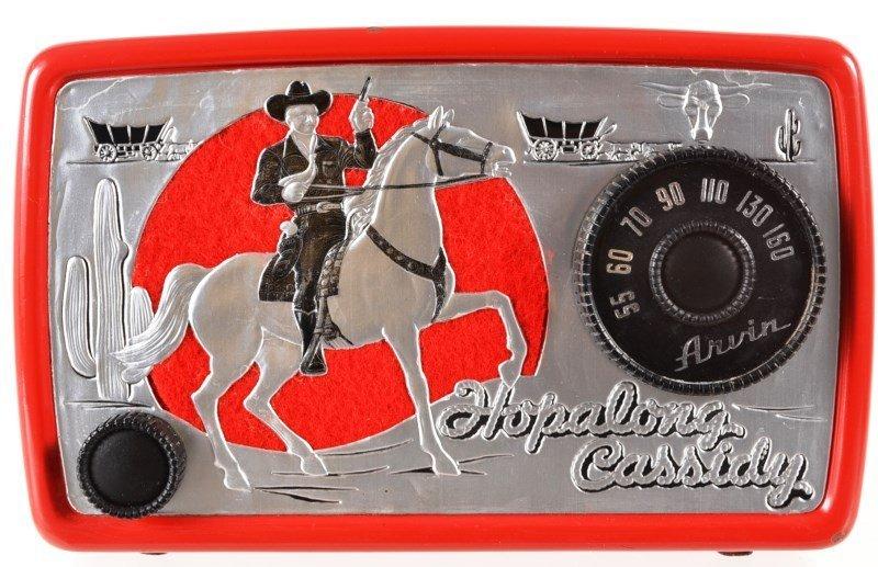 Hopalong Cassidy  1950's Arvin Radio