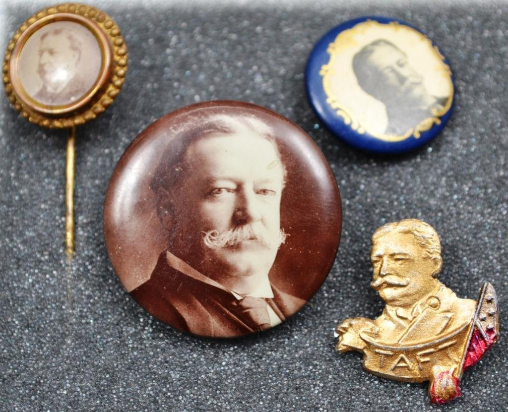 Taft 1980-1912 Campaign Items