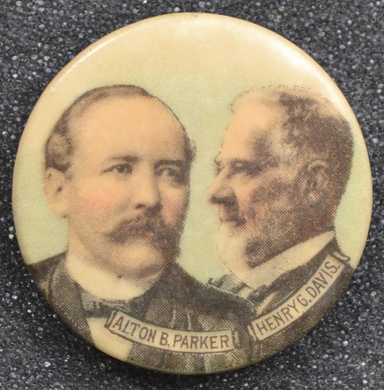 Parker and Davis 1904 Campaign Full Color Jugate B