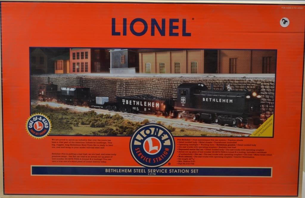 O Scale Lionel Bethlehem Steel Service Station se