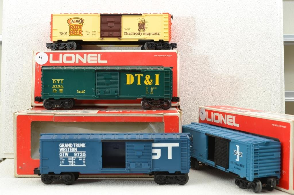 O Scale Lionel miscellaneous car lot including 6–9