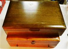 Two Flatware Chests