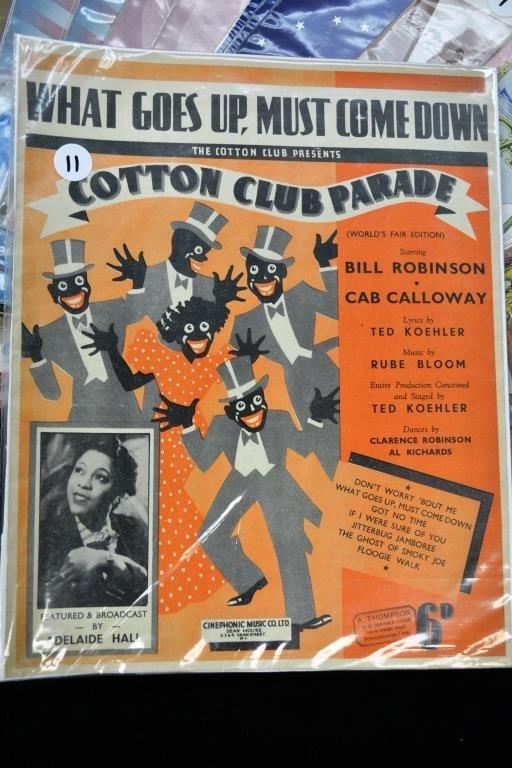 Sheet Music from the 1939 Worlds Fair - 2