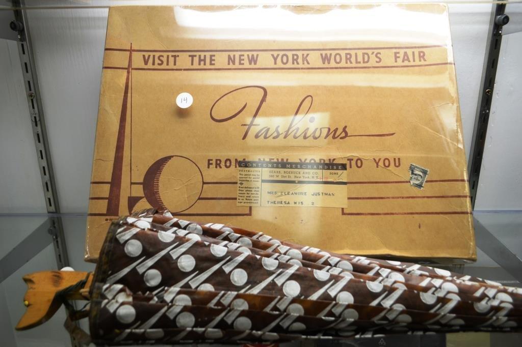 1939 Sears Roebuck / New York Worlds Fair Garment