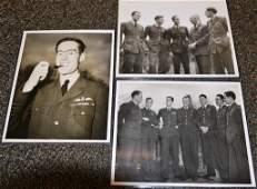 Grouping of World War II Pilots including Leonard