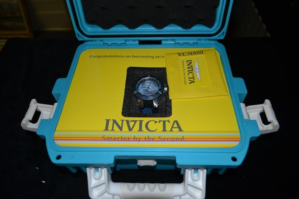 Invicta Watch and Hard Case