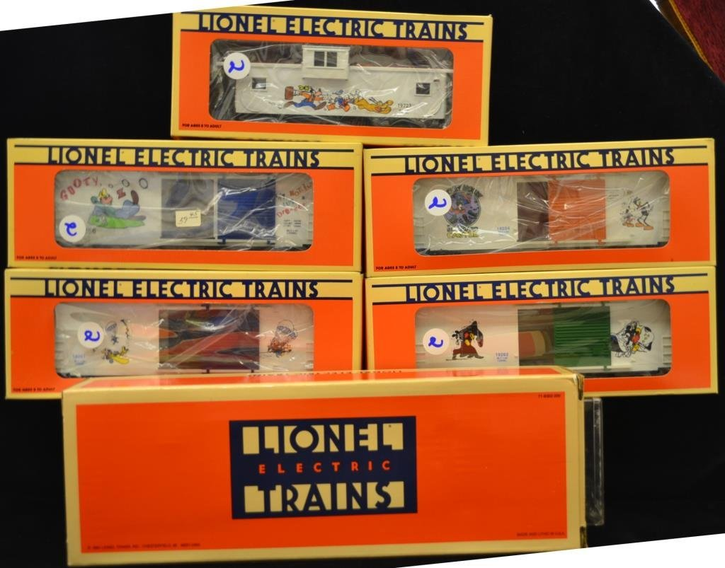 Disney Lionel Train Set