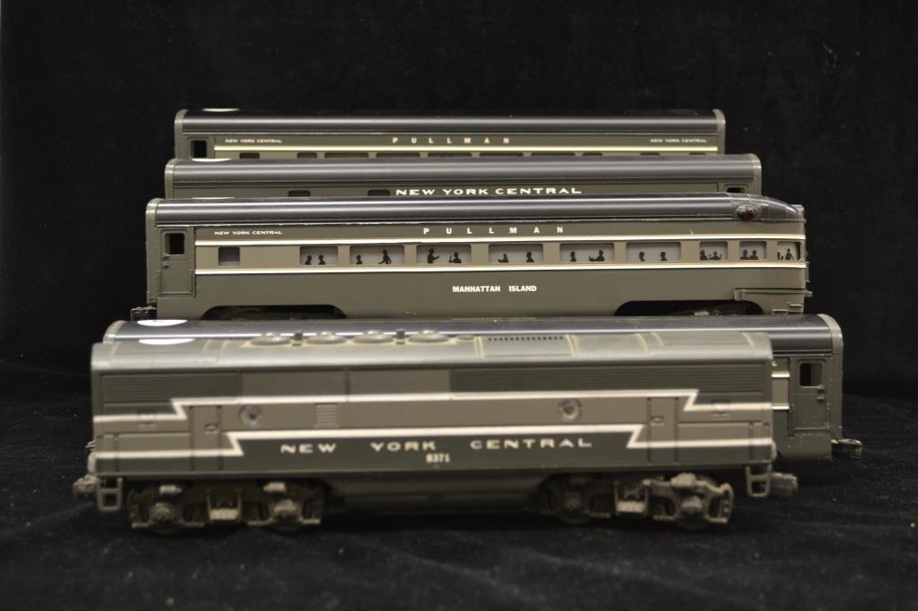 Five New York Central Cars