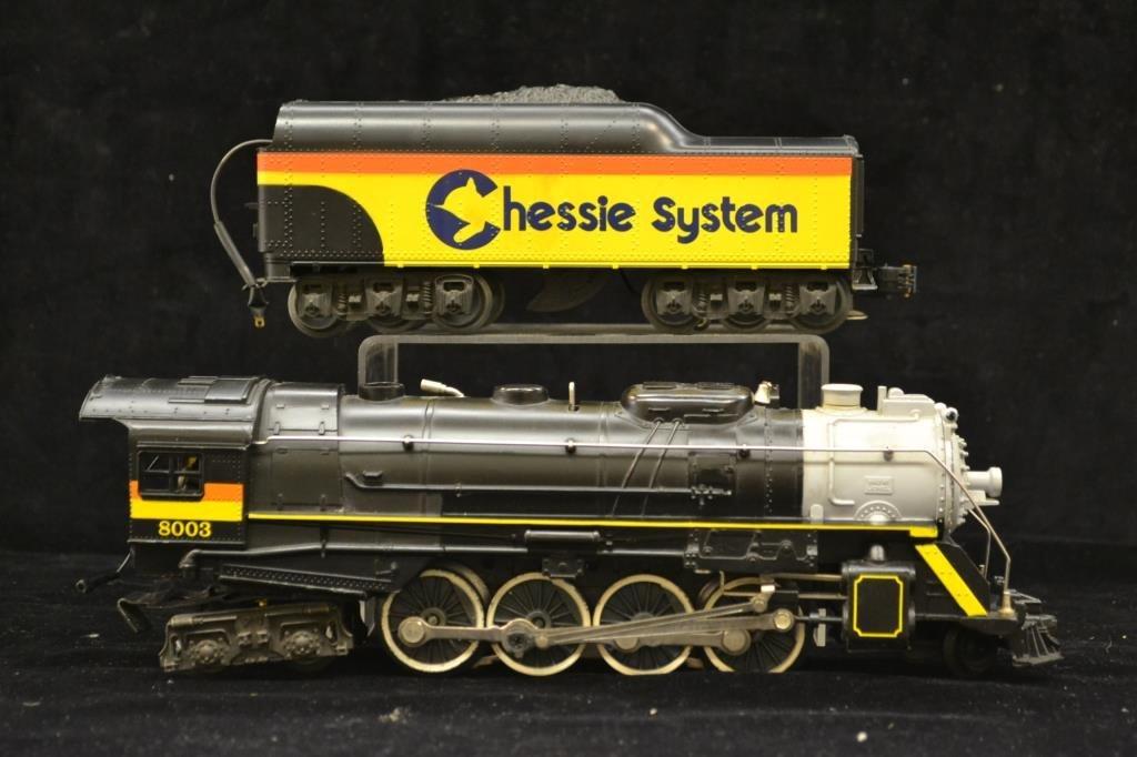 Lionel Chessie Steam Special Engine and Tender