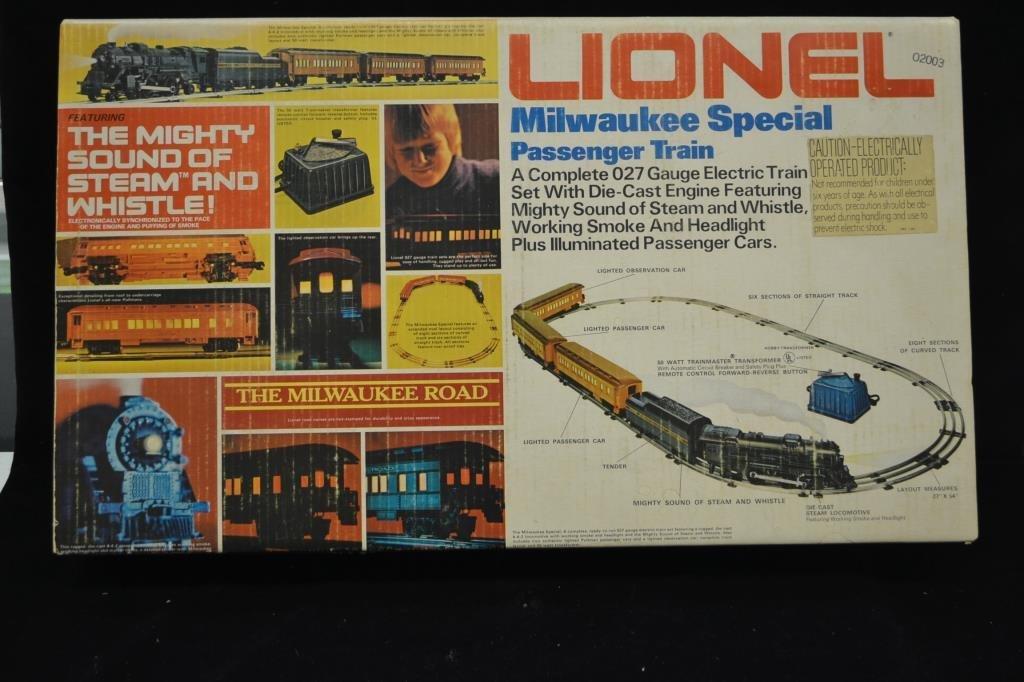 Lionel Milwaukee Special Passenger Train Set