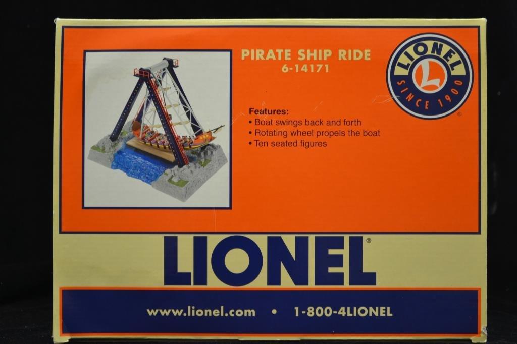 Lionel Pirate Ship Ride