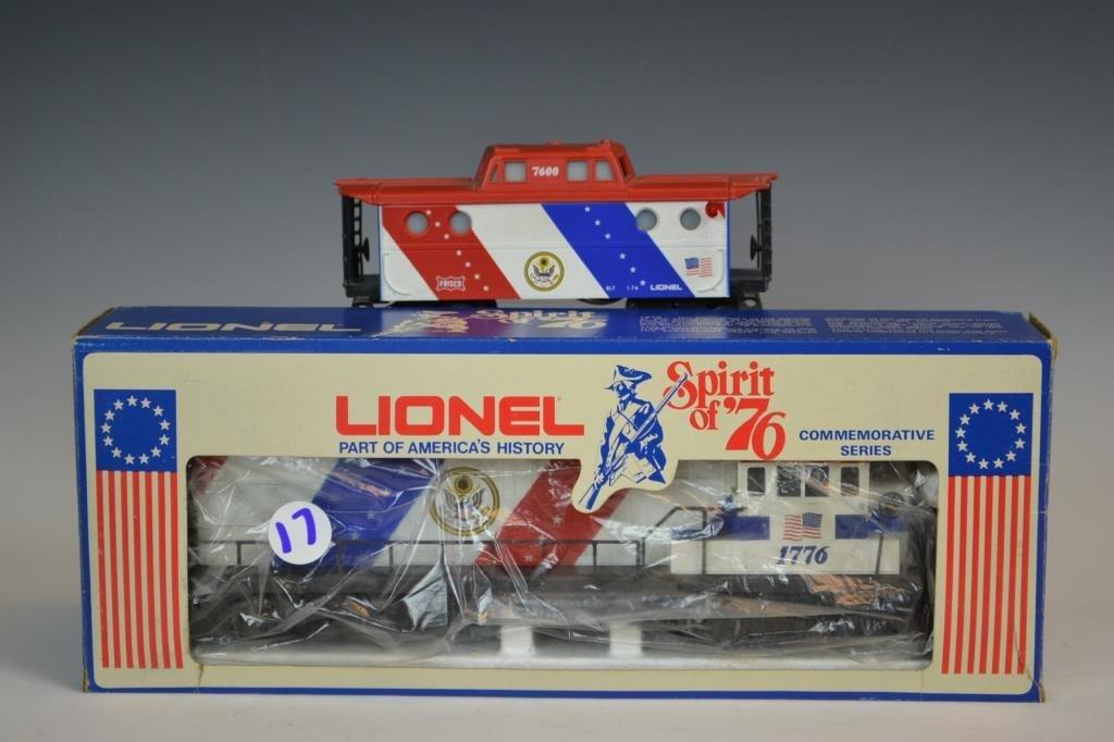 Lionel Spirit of '76 Engine and Caboose