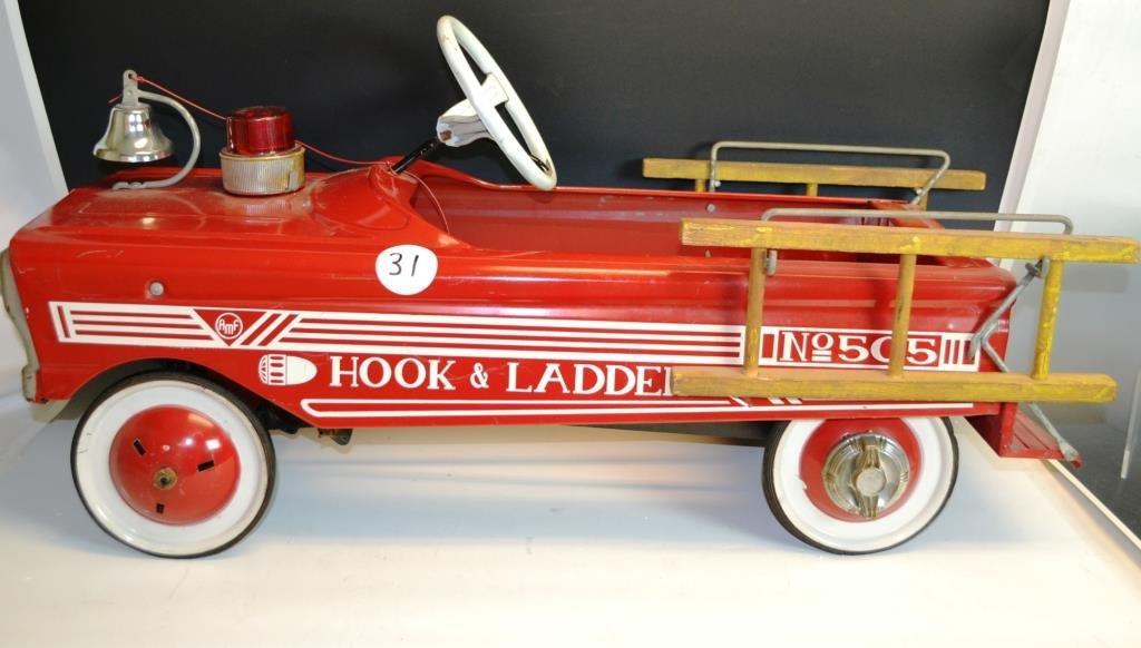 AMF Hook & Ladder No. 505 Pedal Car