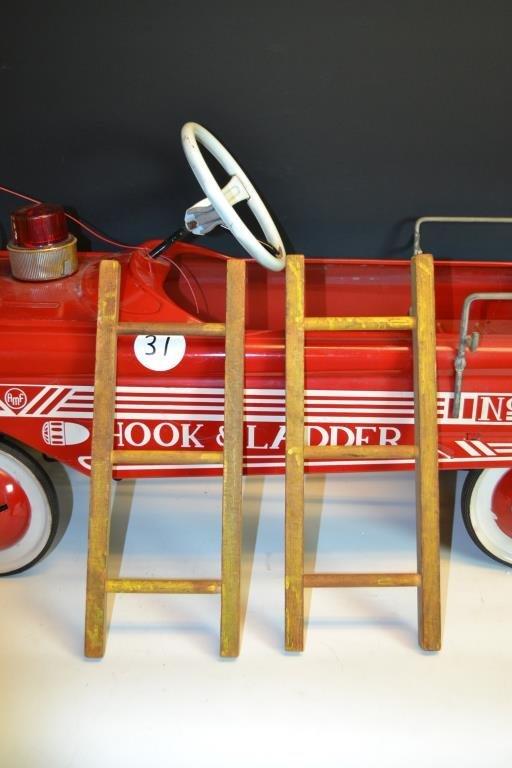 AMF Hook & Ladder No. 505 Pedal Car - 2