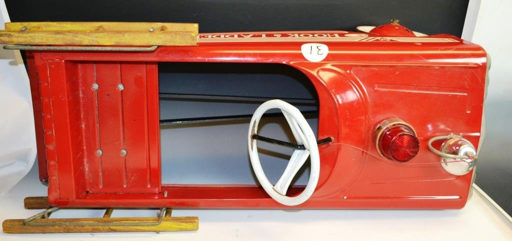 AMF Hook & Ladder No. 505 Pedal Car - 4