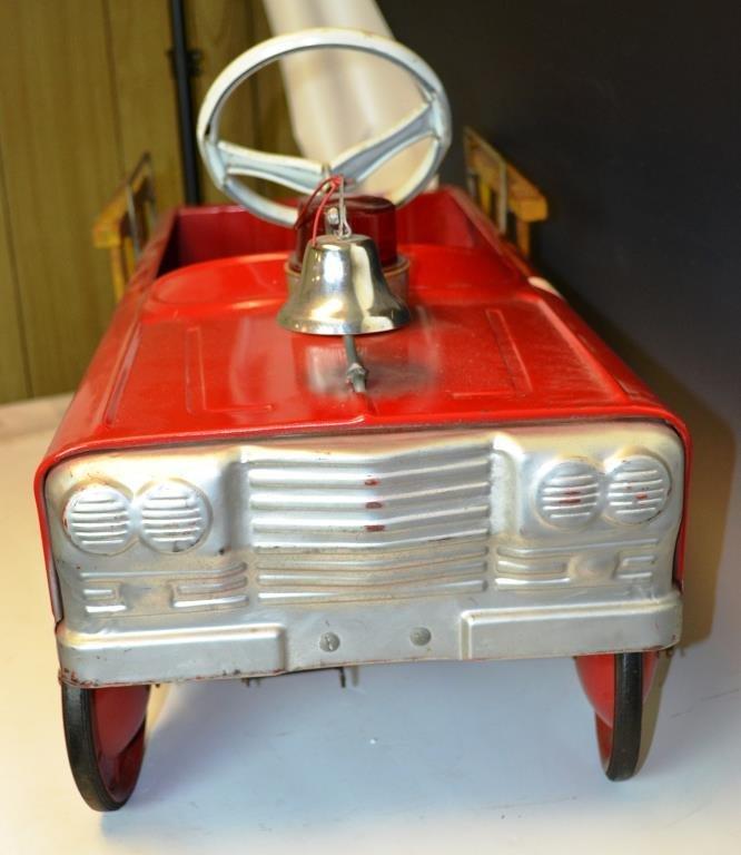 AMF Hook & Ladder No. 505 Pedal Car - 5