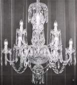 Waterford Six Cranmore Arm Crystal Chandalier