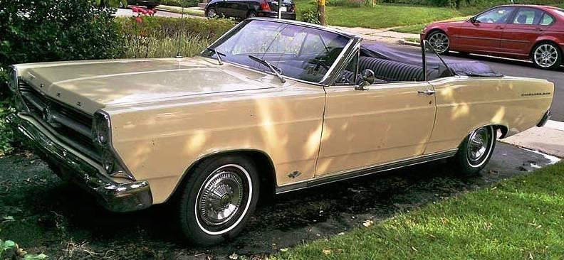 1966 Ford Fairlane 500 Convertible
