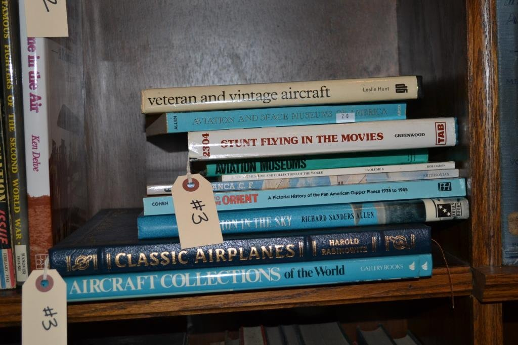 Ten Books on Vintage Flight, Aircraft and Collecti